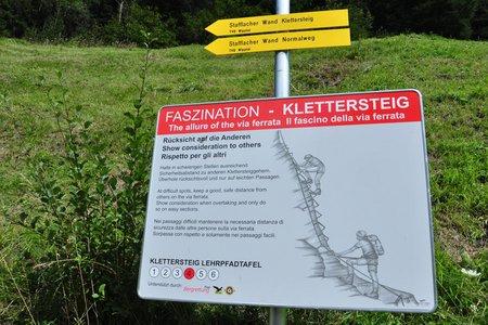 Sicherheit am Klettersteig