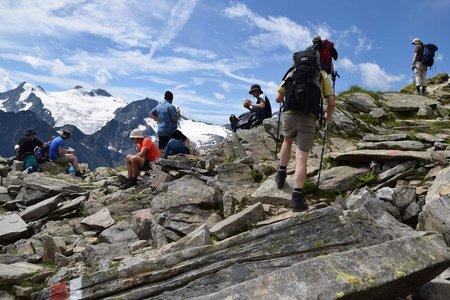 Stubaier Höhenweg-Nord (4 Tagesetappen)