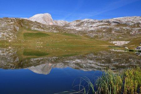 Fosses See - Sennes Rundwanderung vom Berggasthaus Pederü