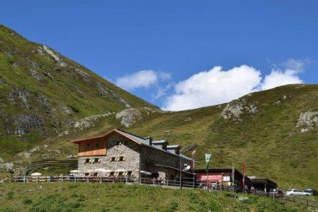 Amberger Hütte (2135 m) von Gries