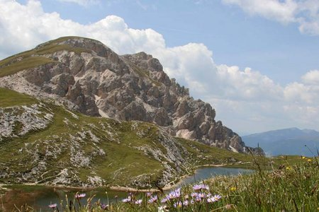 Dreifingerspitze (2497 m) vom Furkelsattel