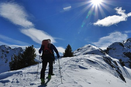 Stoßkofel (2321 m) von Weissenbach