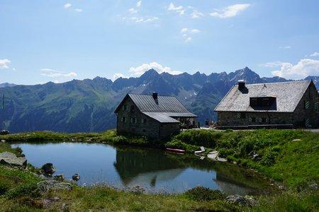 Friedrichshafener Hütte von Galtür