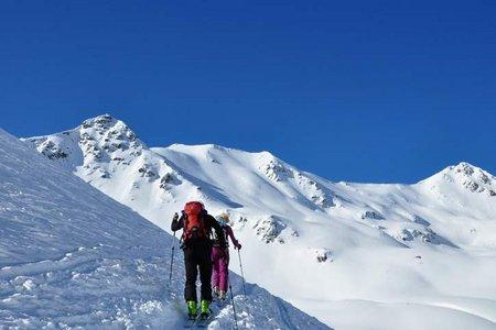 Piz Rims (3070 m) von der Sesvennahütte