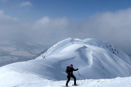 Kellerjochhütte (2237 m) über Arbeskogel (2006 m) am Pillberg