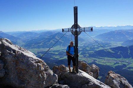 Ellmauer Halt (2344m) von der Wochenbrunner Alm