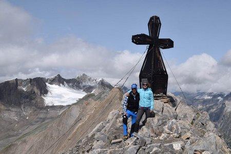 Vordere Kendlspitze (3085 m) von der Adlerlounge