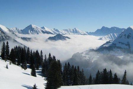 Galtjoch (2109 m) von Rinnen bei Berwang