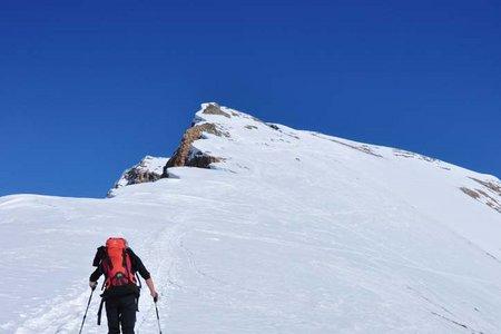 Antonisspitze (2656 m) von der Faneshütte