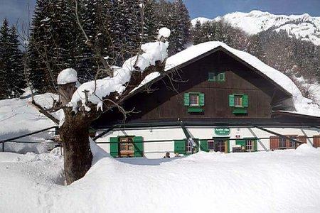 Winterwanderweg zur Arzler Alm