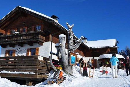 Roner Hütte - Naturrodelbahn