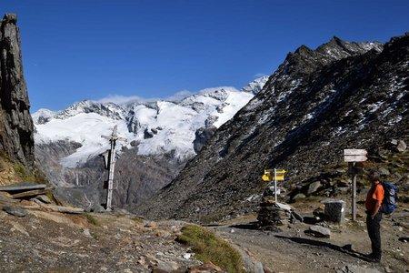 Birnlücke (2669 m) von Kasern