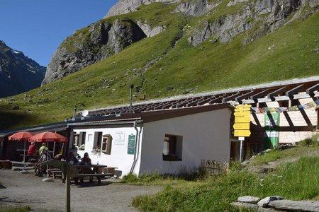 Essener Rostocker Hütte - Hochkarscharte - Clarahütte