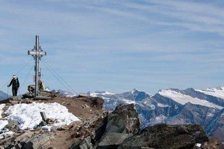 Weißspitze (3300 m) von der Bodenalm