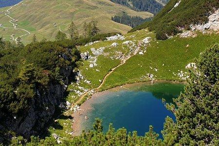 Seehornsee (1779m) von Pürzlbach