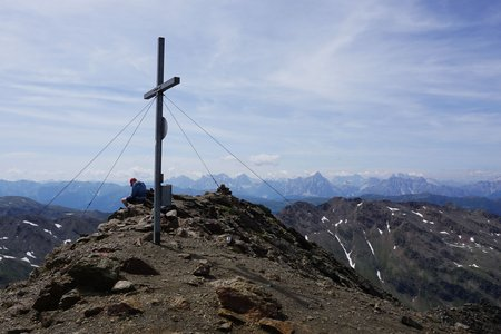 Degenhorn (2946m) von der Volkzeiner Hütte