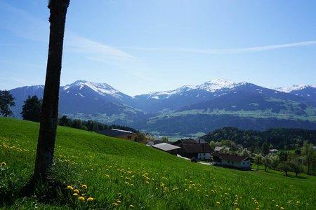 Gnadenwald – Eggen Runde von Fritzens