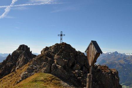 Pfoner Kreuzjöchl und Mislkopf (2640/2623 m) von Navis