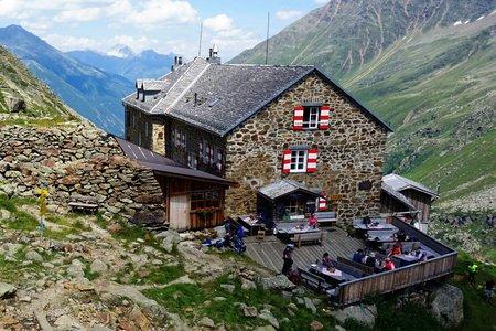 Nürnberger Hütte (2278m) durch das Lange Tal
