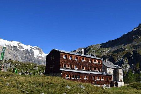 Essener-Rostocker-Hütte (2208 m) von der Johannishütte