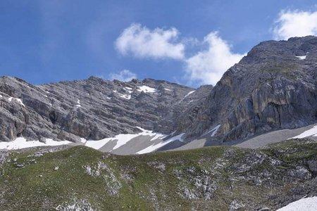 Hintere Bachofenspitze (2668 m) von der Pfeishütte