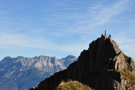 Klettersteig Marokka mit Henne-Gipfel