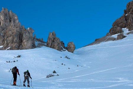 Stöttltörl (2036 m) vom Gasthof Arzkasten