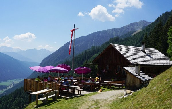 Kumpfl Alm in Antholz Mittertal