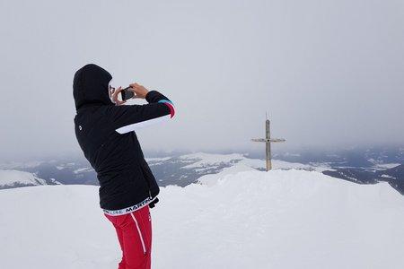Kleiner Peitlerkofel (2813 m) aus dem Campilltal