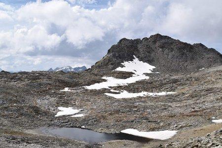 Zwieselbacher Rosskogel (3081 m) von der Pforzheimer Hütte