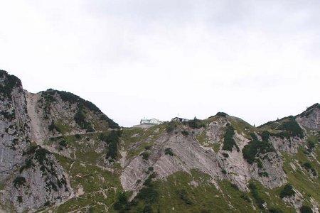 Stripsenjochhaus (1580 m) von der Griesneralm