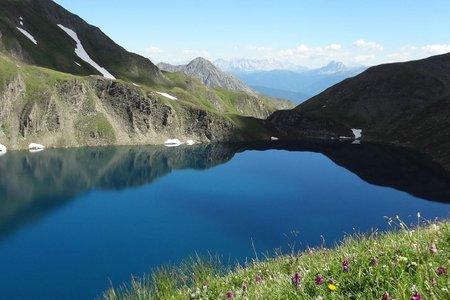 Wilder See von der Fanealm