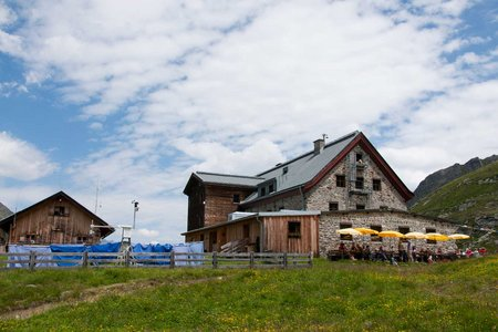 Wanderung Neue Regensburger Hütte - Franz Senn Hütte