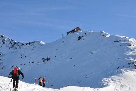 Kellerjochhütte - Kellerjoch (2237/2344 m) von der Pirchneraste