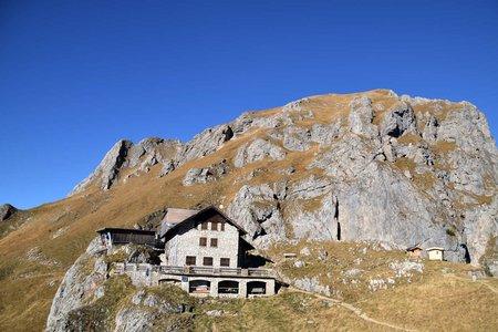 Bad Kissinger Hütte (1788 m) von Enge