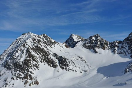 Linker Fernerkogel  (3277 m) vom Pitztaler Gletscher
