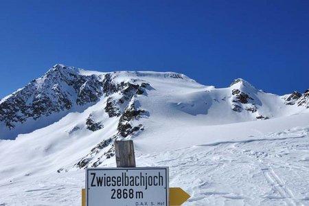 4 Tag: Schweinfurterhütte-Breiter Grieskogel-Winnebachseehütte