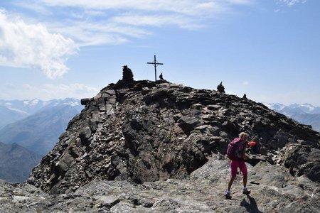 Hoher Nebelkogel (3211 m) von der Fiegl's Hütte