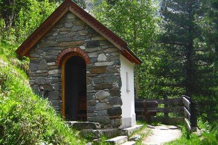 Riegelkapelle von St. Sigmund im Sellraintal