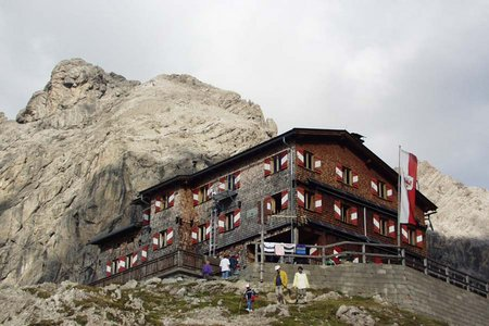 Karlsbader Hütte (2261 m) über den Rudl Eller Weg