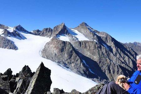 Rinnenspitze (3003 m) von der Franz Senn Hütte