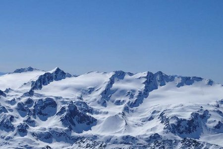 Dritte Veneziaspitze (3356 m) von der Enzianhütte