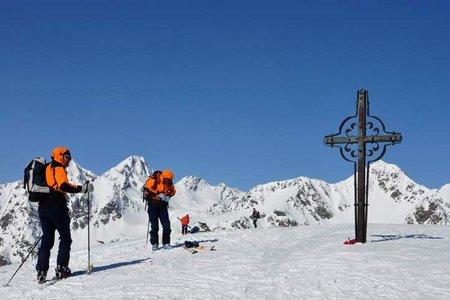 Amjoch - Terner Jöchl ( 2405 m) vom Parkplatz Gelenke