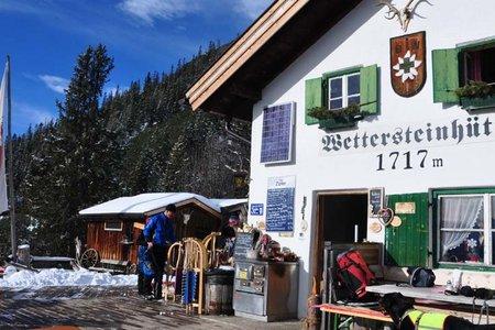 Wettersteinhütte-Rundwanderung vom Parkplatz Stupfer