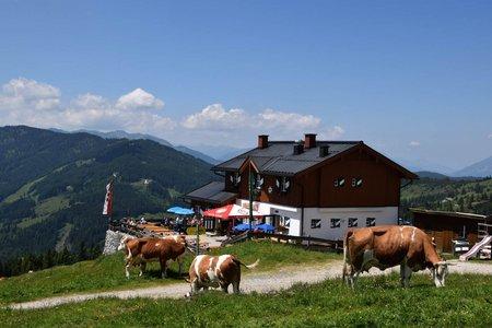 Erichhütte (1545 m) vom Dientner Sattel