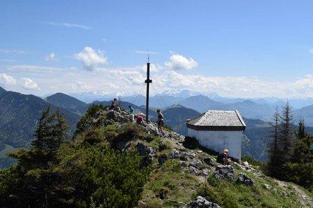Spitzstein (1596 m) von Sachrang