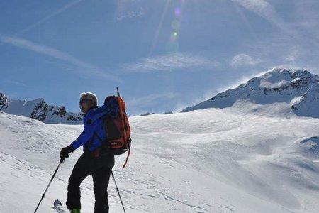 Mittlerer Seelenkogel (3424 m) von der Langtalereckhütte