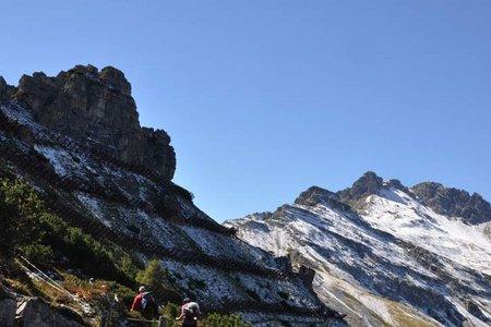 Panoramawanderung Kreuzjoch-Starkenburger Hütte