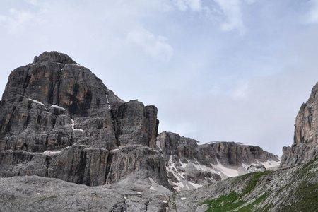 Pisciadu Hütte (2585 m) durch das Val Setus