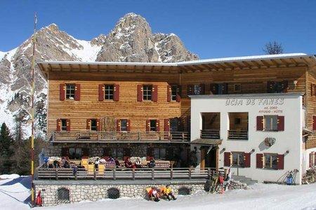 Rifugio Fanes Hütte - Naturrodelbahn